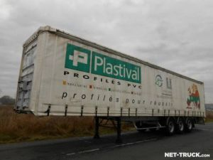 Trailer Fruehauf Curtain side body Occasion