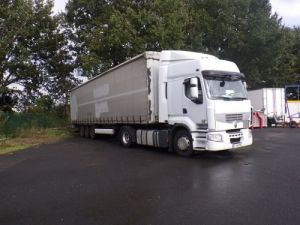 Trailer Krone Curtain side body Occasion