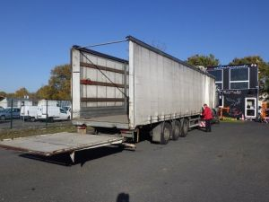 Trailer Lecitrailer Curtain side body Occasion