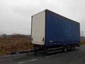 Trailer Samro Curtain side body 2 essieux centraux Occasion
