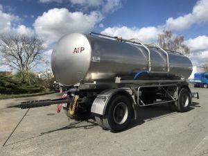 Trailer ETA Foodstufs tank body Citerne INOX 14000 litres Occasion