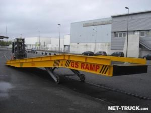 Trailer Autre Heavy equipment carrier body Occasion