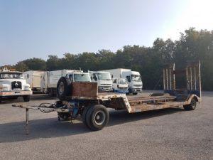 Trailer Samro Heavy equipment carrier body PORTE-ENGINS 2 essieux Occasion