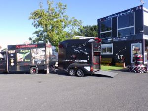 Trailer Horse van body Occasion
