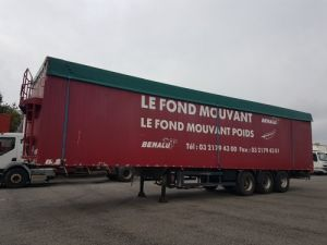 Trailer Benalu Moving floor body FOND MOUVANT BENALU 90m3 Occasion