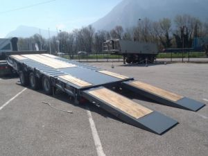 Trailer Castera Platform body Occasion
