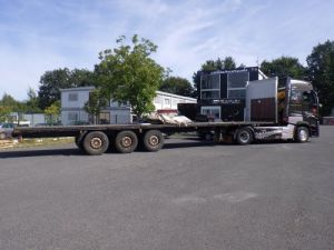 Trailer Krone Platform body Occasion