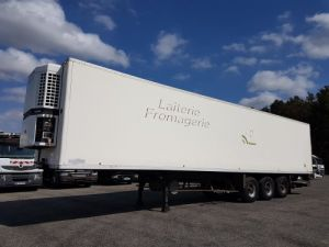 Trailer Fruehauf Refrigerated body Frigorifique CHEREAU - Groupe TK en panne Occasion