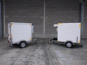 Trailer Lamberet Refrigerated body Occasion
