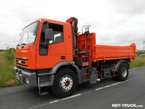 Trucks Iveco EuroTech 2/3 way tipper body + crane Occasion