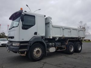 Trucks Renault Kerax 2/3 way tipper body 385.16 6x4 BTP Occasion