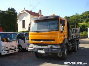 Trucks Renault Kerax 2/3 way tipper body Occasion