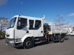 Trucks Renault Midlum 2/3 way tipper body 220dxi.12 DOUBLE CABINE Occasion