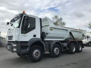 Trucks Iveco Trakker Back Dump/Tipper body 450 8x4  Occasion