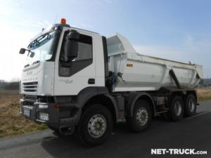 Trucks Iveco Trakker Back Dump/Tipper body Occasion