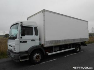 Trucks Renault Midliner Box body + Lifting Tailboard Occasion