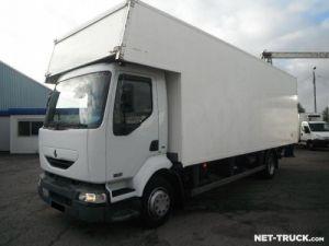 Trucks Renault Midlum Box body + Lifting Tailboard Occasion