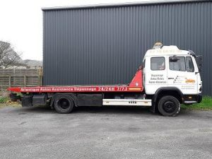 Trucks Mercedes Breakdown truck body Occasion