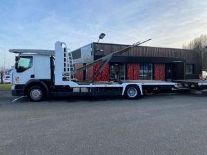 Trucks Renault Premium Car carrier body  REMORQUE LOHR Occasion