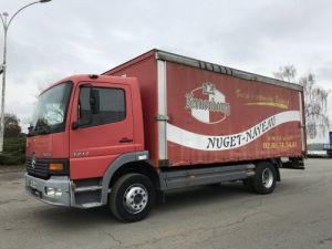 Trucks Mercedes Atego Curtain side body 1217 N - PLATEAU BRASSEUR Occasion