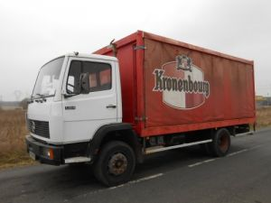Trucks Mercedes LK Curtain side body 1314 Occasion