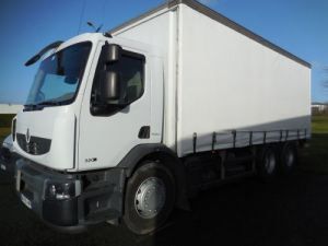 Trucks Renault Curtain side body 320 Occasion