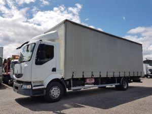 Trucks Renault Midlum Curtain side body 240dxi.16 - P.L.S.C. 8m10 Occasion