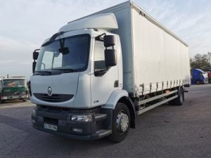 Trucks Renault Midlum Curtain side body 270.18 Occasion