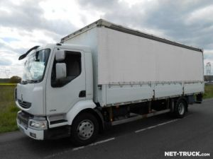 Trucks Renault Midlum Curtain side body Occasion