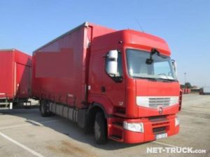 Trucks Renault RENAULT PREMIUM 450 19 T Curtain side body Occasion