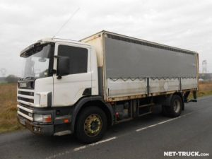 Trucks Scania P Curtain side body Occasion
