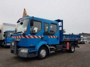 Trucks Renault Midlum Double Cab Back Dump/Tipper body 220dci.12 TRI-BENNE / 7 PLACES Occasion