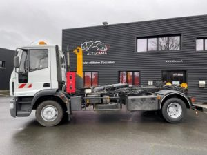 Trucks Iveco EuroCargo Hookloader Ampliroll body 160 E21 POLYBENNE BRAS AMPLIROLL BENNE AMOVIBLE AVEC 1 CAISSON  Occasion