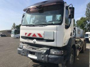 Trucks Renault Kerax Hookloader Ampliroll body 6X4 RECONDTIONNE 370.26  Occasion