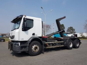 Trucks Renault Premium Lander Hookloader Ampliroll body 430dxi.26 6x4 Occasion