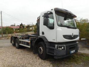 Trucks Renault Premium Hookloader Ampliroll body 320.26 dxi Occasion