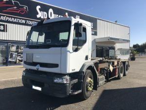 Trucks Renault Premium Hookloader Ampliroll body 370.26 6X2 BOITE AUTO Occasion