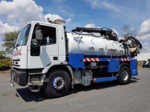 Trucks Iveco EuroTech Jetting machine body 190 E 30 K - RIVARD 9m3 Occasion