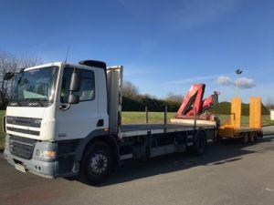 Trucks Daf CF85 Platform body + crane Occasion