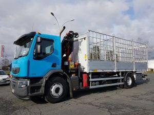 Trucks Renault Premium Lander Platform body + crane 310dxi.19 - PK 12002 EH Occasion