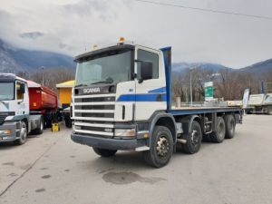 Trucks Scania C Platform body 124C 420 Occasion
