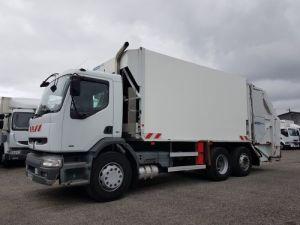 Trucks Renault Premium Refuse collector body 300.26 6x2 BOM euro 2 - BV MANUELLE Occasion