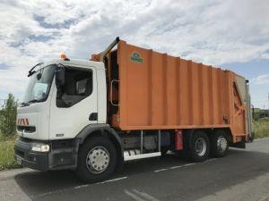 Trucks Renault Premium Refuse collector body 320dci.26 6x2/4 problème boite de vitesse et direction Occasion