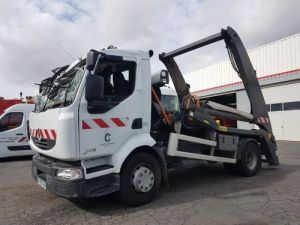 Trucks Renault Midlum Skiploader body 220dxi.16 - Accidenté Occasion