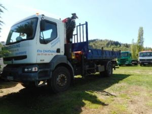 Trucks Renault Kerax Tipper body + crane 370 Occasion
