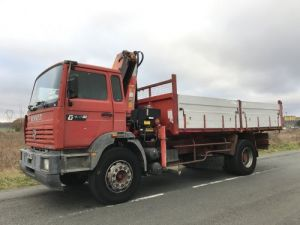 Trucks Renault Manager Tipper body + crane G230ti.19 Occasion