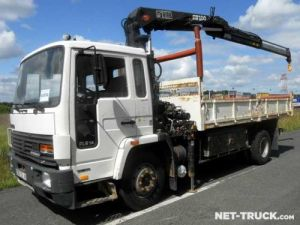 Trucks Volvo FL Tipper body + crane Occasion