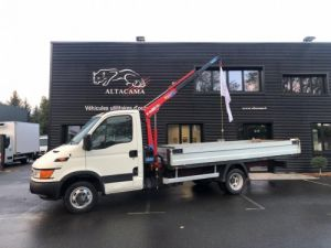 Utilitaires divers Iveco Daily Plateau + grue 35C13 PLATEAU GRUE Occasion