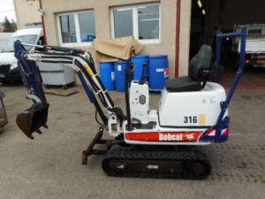Various utilities Bobcat Crawler excavator Occasion