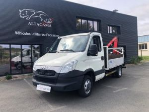 Various utilities Iveco Daily Platform body + crane 35C17 Occasion